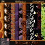 Halloween Night Paper Pack CU
