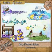 FAIRY OF DREAMS BORDER PACK - TAGGER SIZE