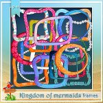 Kingdom of mermaids frames CU