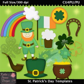 St. Patrick's Day Templates - CU