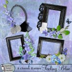 Feeling blue cluster frames