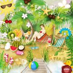 Beach Party PU Kit by Lemur Designs