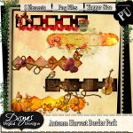 AUTUMN HARVEST BORDER PACK - TAGGER SIZE