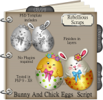Bunny and Chick Eggs Script
