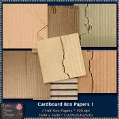 Cardboard Box Papers 1 CU