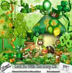 LUCK BE WITH YOU SCRAP KIT - FULL SIZE
