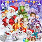 LTB Cute Christmas Animals