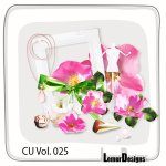 CU Vol. 025 Flowers by Lemur Designs