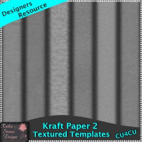 Kraft Paper Templates Set 2 CU4CU