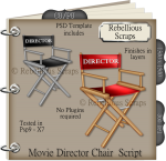 Movie Director Chair Script