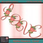 Alpha Flowers - Coral TS CU
