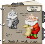 Santa At Work Script