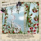 Christmas Holiday Borders FS CU
