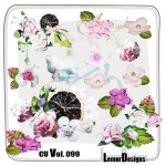 CU Vol. 099 Flowres by Lemur Designs