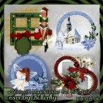 CU Winter/X-Mas Clusters Set