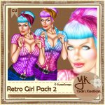 Retro Girl Pack 2