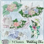 Wedding Chic clusters