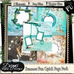 SUMMER FUN QUICK PAGE PACK TAGGER SIZE