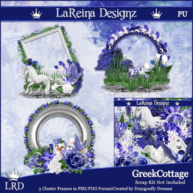 Greek Cottage - ClusterFrames